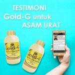 Testimoni Gold G Untuk Penyakit Asam Urat
