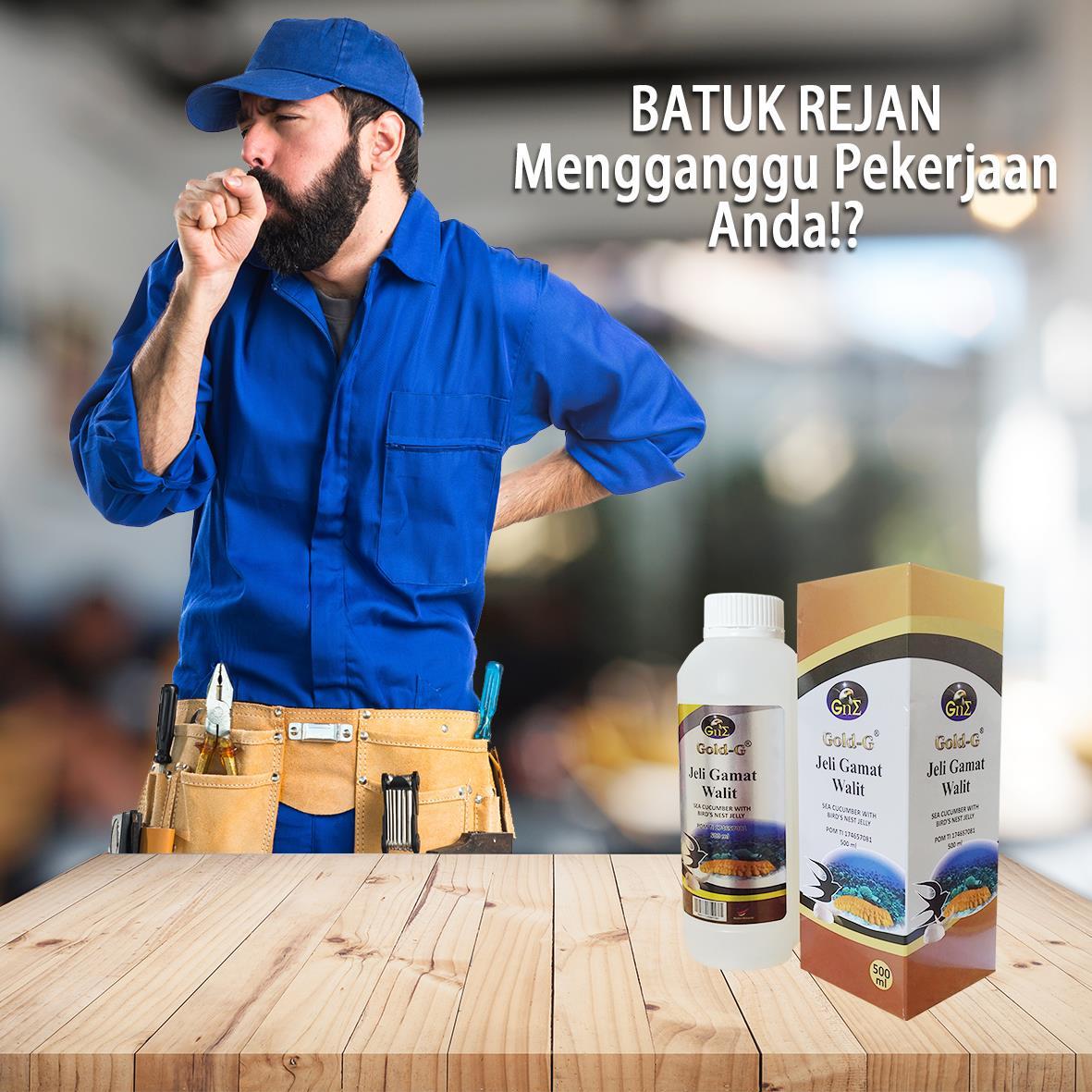 Obat Batuk Rejan Ampuh Jelly Gamat Walet