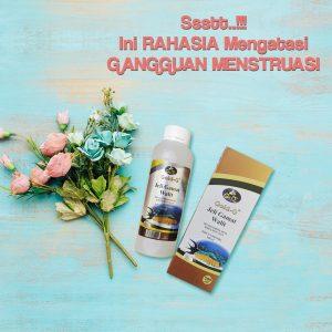 Obat Ampuh Gangguan Menstruasi Jelly Gamat Walet