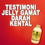Testimoni Jelly Gamat Gold G Untuk Darah Kental
