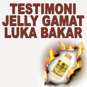 Testimoni Jelly Gamat Gold G Untuk Luka Bakar