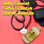 Jelly Gamat Gold G Untuk Darah Rendah