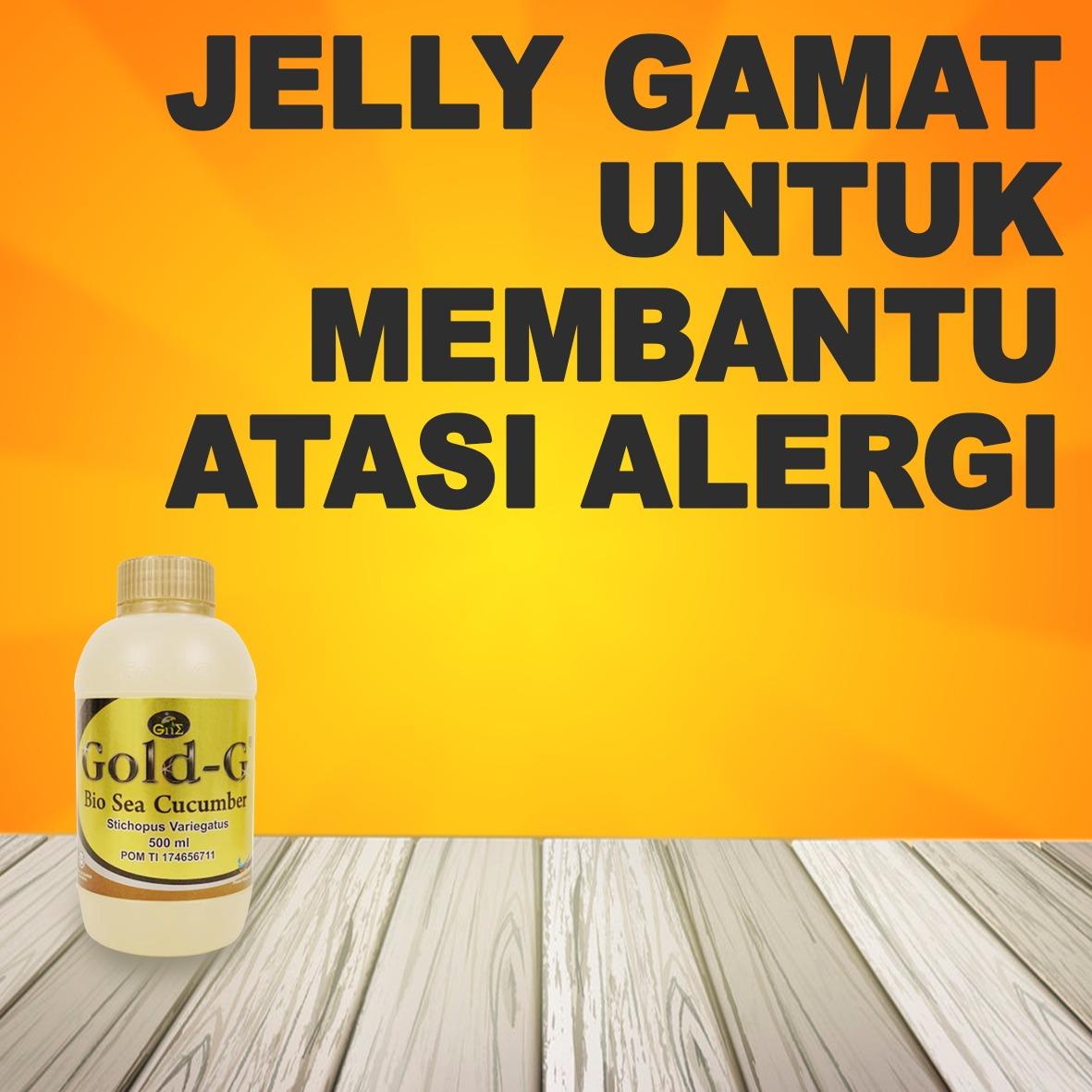 Jelly Gamat Gold G Untuk Alergi