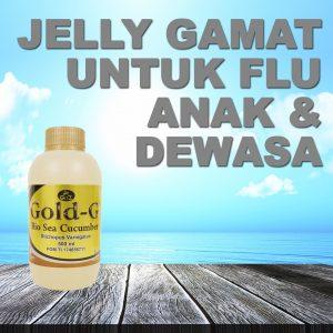Jelly Gamat Gold G Untuk Flu