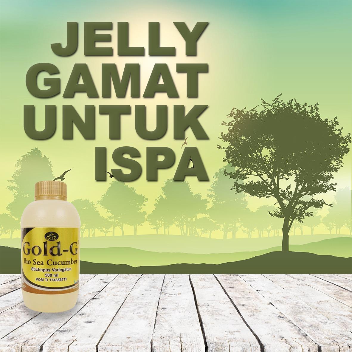 Jelly Gamat Gold G Untuk ISPA