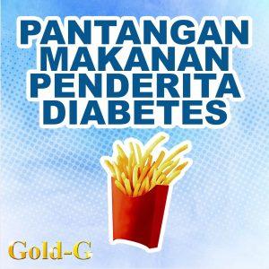 Pantangan Makanan Penderita Diabetes