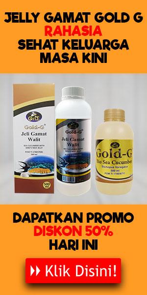 Gamat Bio Gold Asli