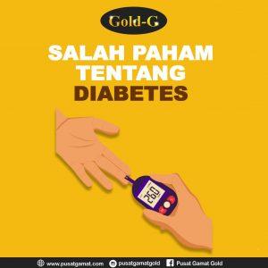 Kesalahpahaman Tentang Diabetes