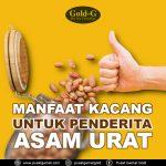 Manfaat Kacang Untuk Asam Urat