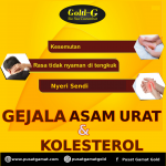 Gejala asam urat dan kolesterol