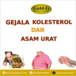 gejala kolesterol dan asam urat