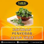Sayuran penyebab asam urat