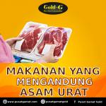 Makanan yang mengandung asam urat
